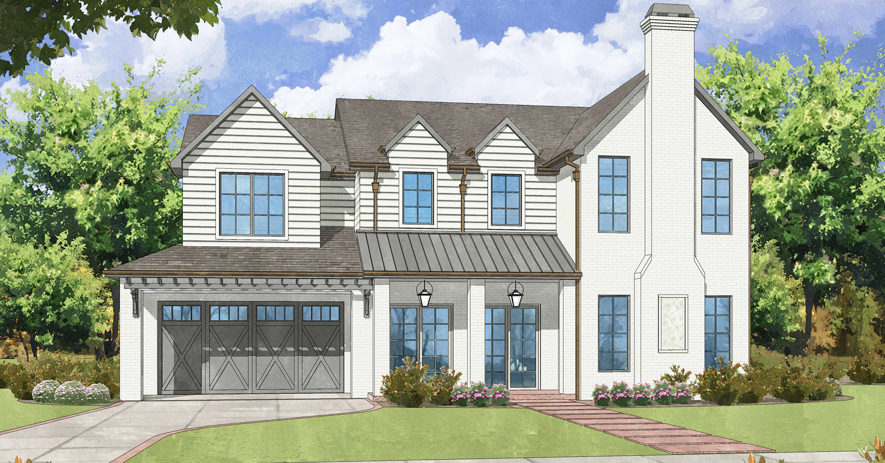 Briargrove <br/>  Custom Home Available, Completion Spring 2021 <br/>  6230 Ella Lee Lane, Houston, Texas 77055