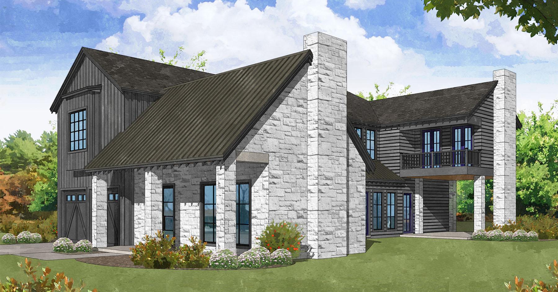 Westview Terrace <br/> Modern Farmhouse Style, Completion Fall 2020 <br/> 6530 Corbin, Houston, TX 77055